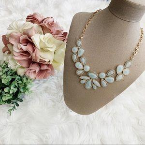 Blue Large Jewel Necklace